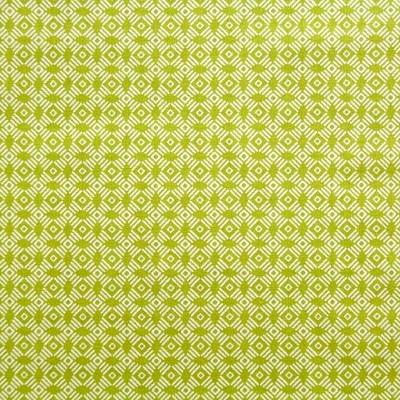 coton cerlce graphique vert